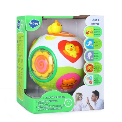 Hola Toys Catch-Me Activity Ball 6