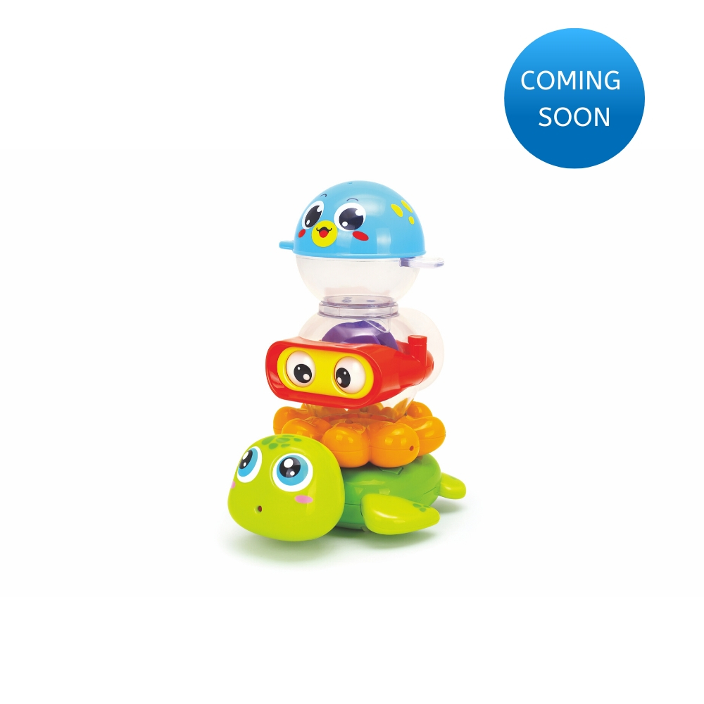 Hola Stack 'n' Squirt Bath Toy