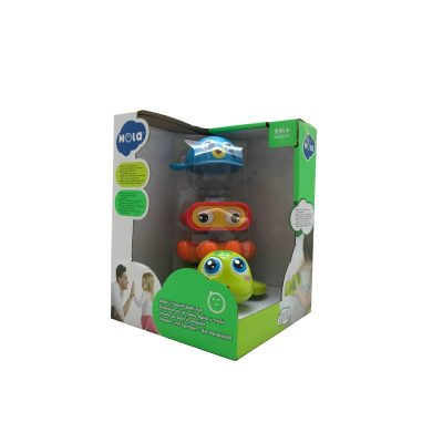 Hola Stack 'n' Squirt Bath Toy 9